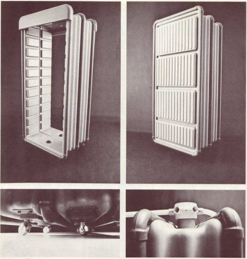 Ettore Sottsass jr., Mobile and Flexible Environment Module, 1972 – SOCKS