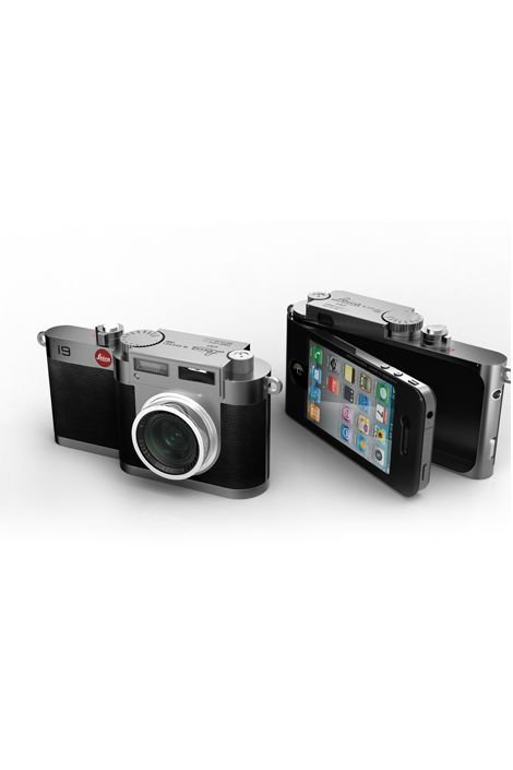 A camera that enhances photos you take with your iPhone!