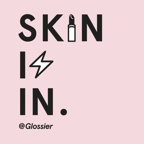 Skin first, makeup second, smile always. Get free lipbalm from Glossier, just…