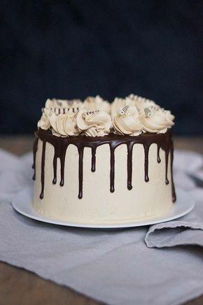 Heerlijk romige taart met Bailey's, mokka en chocolade, veel beter gaat het niet worden! Ik heb van die momenten dat een taart er...