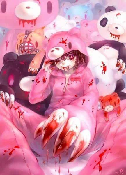 gloomy bear human anime version gijinka
