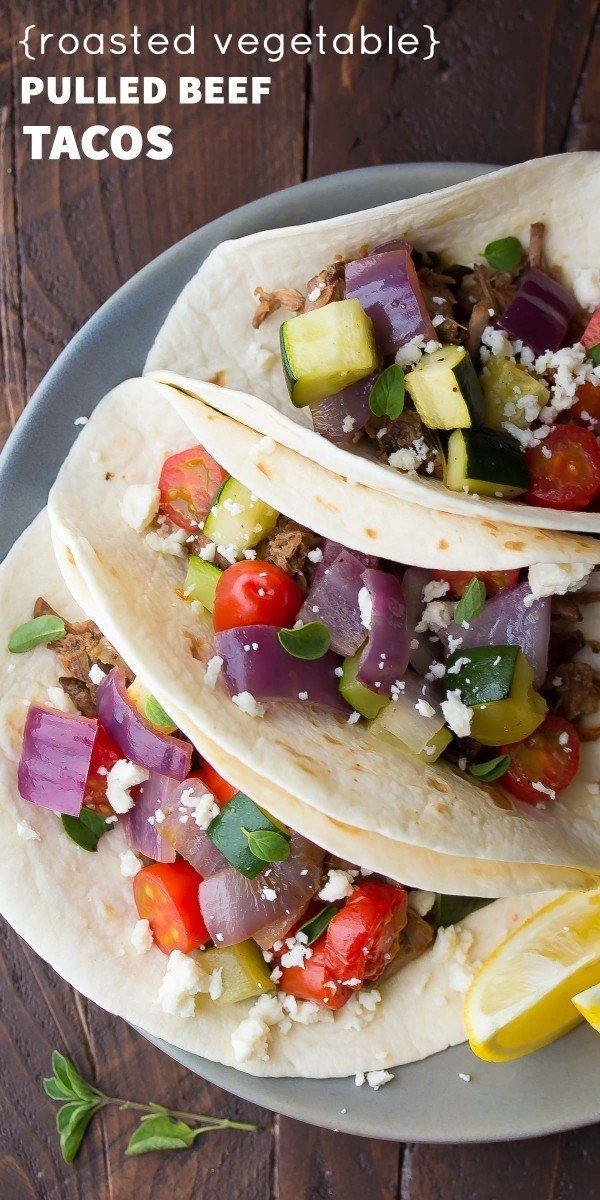 Slow-Cooker Beef Tacos | 15 Crock-Pot Recipes That Are Actually Healthy