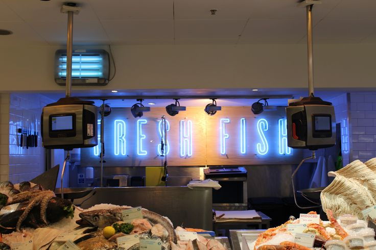 Fresh Fish- Selfridges