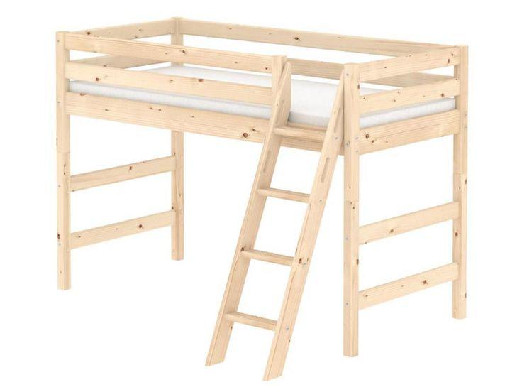 Kinderbett baumhütte  Die besten 25+ Hochbett 90x200 Ideen auf Pinterest   Bett 90x200 ...
