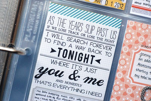 Cool idea - lyrics designed in Photoshop with cool fonts.: Fun Texts, Projects Lifer, Projects Life Inspiration, Songs Lyrics Scrapbook, Life Cards, Lyrics Design, Baseb Cards, Life Ideas, Creative Bubbles