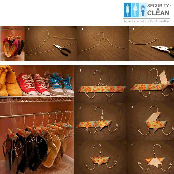 Una buena opción para organizar #Zapatos #Hogar