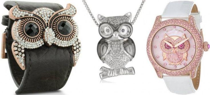 Owl-ish jewellery!!