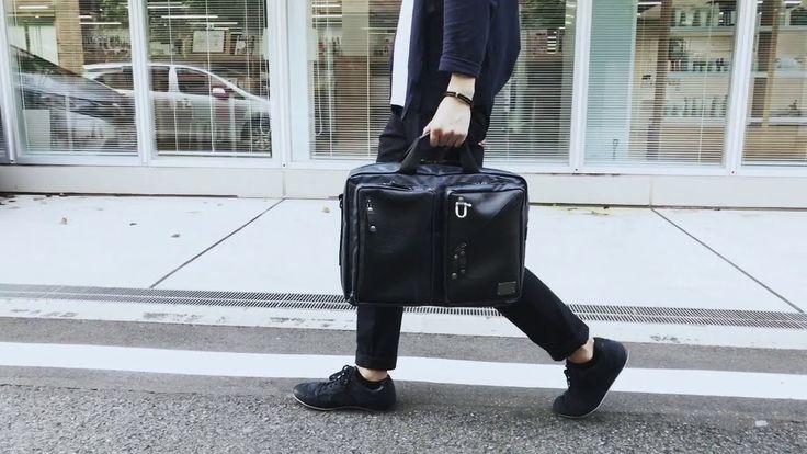 森野帆布コラボ/3WAYビジネスバッグ     #SEAL #bag #seal_brand #upscycle #recycle #eco #バッグ #tyre #タイヤ #Japan #madeinJapan #メイドインジャパン  #森野帆布 #ビジネスバッグ #ビジネス
