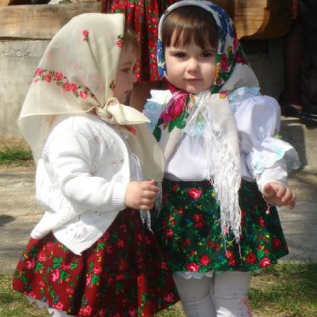 Romanian gypsy babies. This was me.