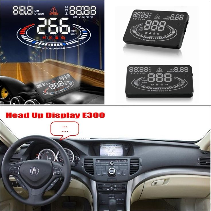Car HUD Head Up Display For Acura TSX