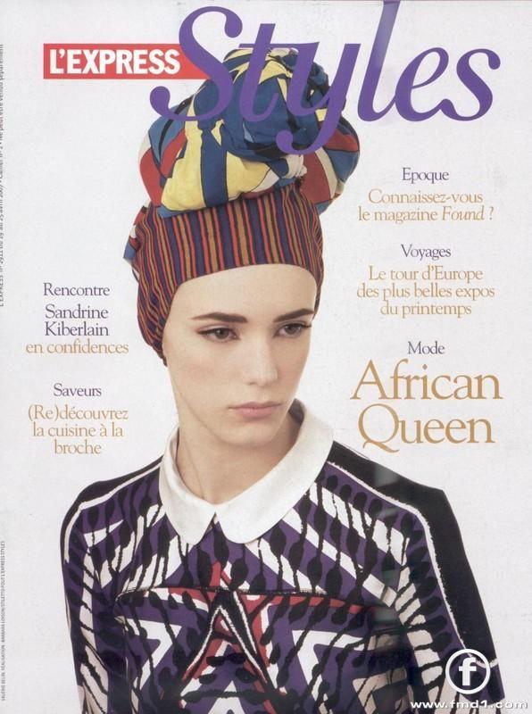 #StacyMartin L'Express Styles Magazine, 2006