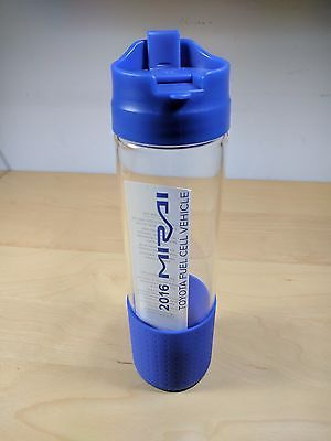 Toyota Mirai Hydrogen Fuel Cell Water Glass Bottle