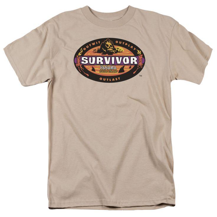 Survivor Panama Sand T-Shirt