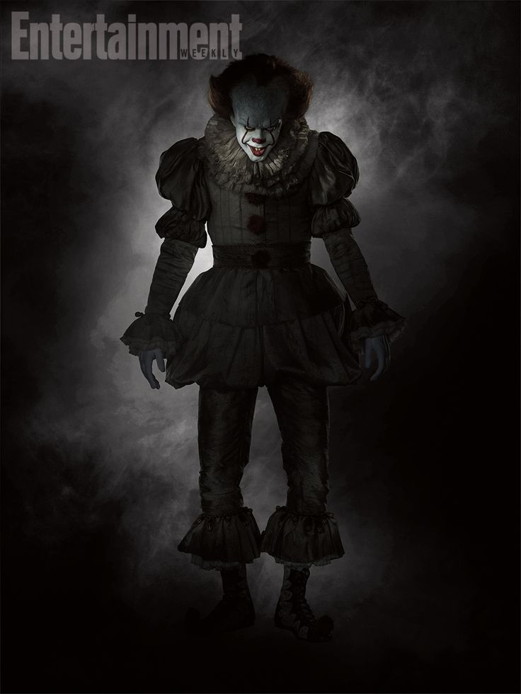 Behold Pennywise the Clown's eerie costume from Stephen King's 'It.'