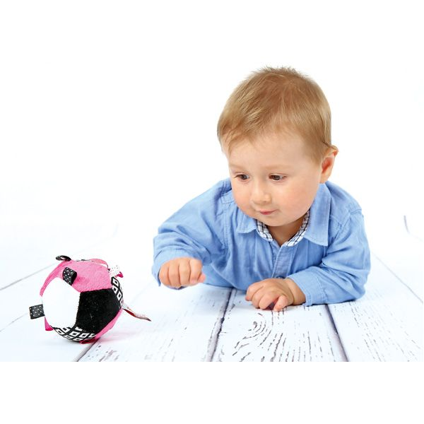 Piłeczka kontrastowa do stymulowania wzroku dziecka #visual #stimulation #infants #baby #view #moje #bambino  http://www.mojebambino.pl/percepcja-wzrokowa/10890-pileczka-kontrastowa.html