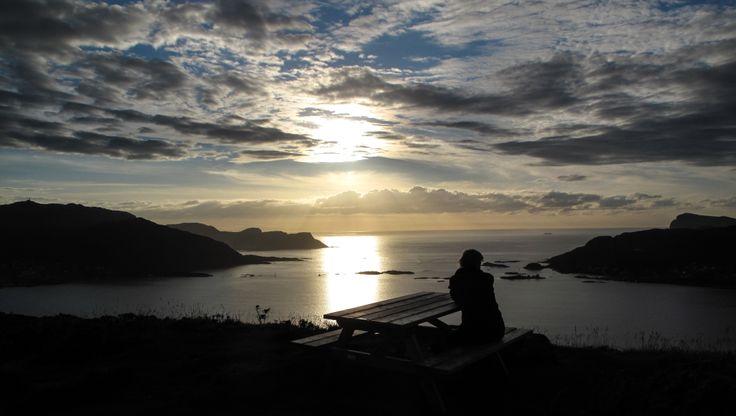 Sunset Fosnavag Norway