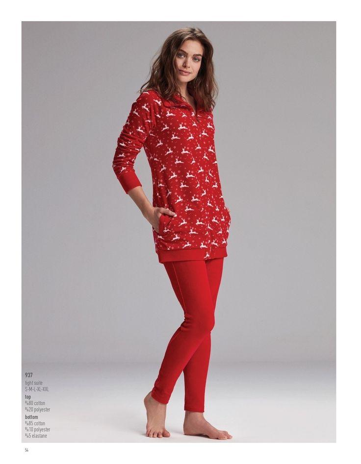 Catherine's 937 Bayan Tayt Takım #markhacom #YeniYılHediyesi  #GeyikDesenliTaytTakım #GeyikDesenli #YeniYılPijamaTakım #YılBaşı #YılBaşıPijamaTakım #YeniYıl  #YeniYılHediyesi #NewYears #Yılbaşı #BayanPijama #BayanGiyim #YeniSezon #Moda #Fashion #Kırmızı #Ekru #KışTemalı