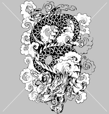 http://www.vectorstock.com/i/composite/29,81/dragon-in-clouds-vector-22981.jpg
