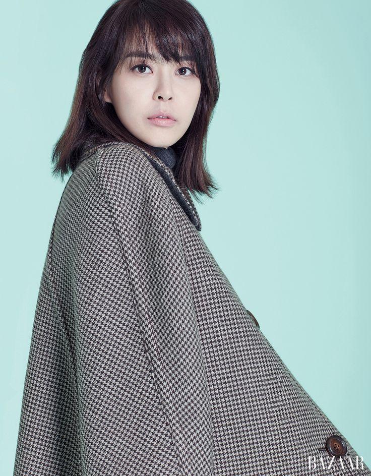 Lee Ha Na - Harper's Bazaar Magazine January Issue '17