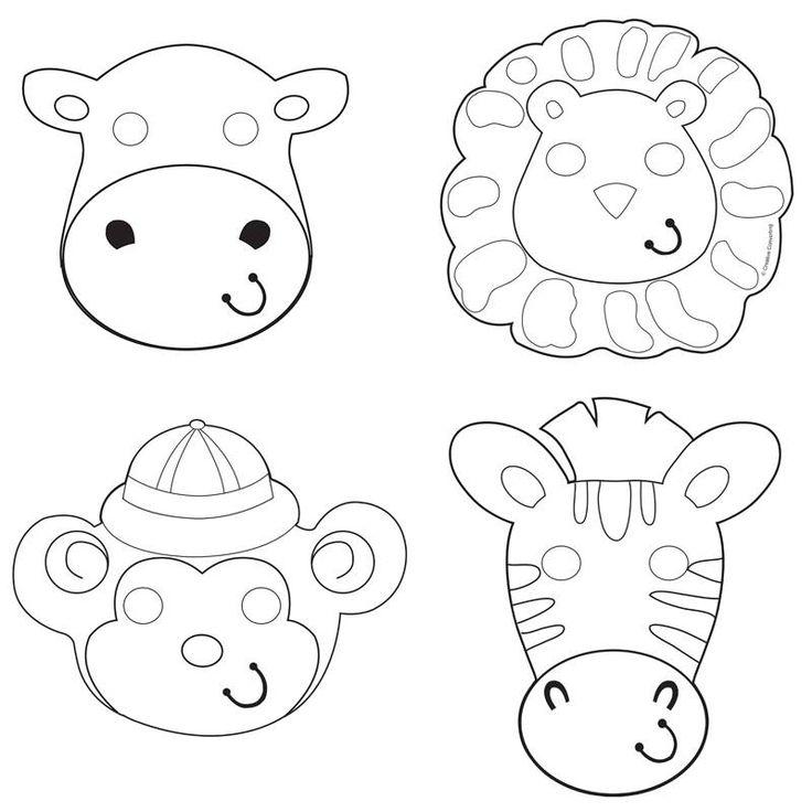 Safari Avontuur Inkleurmaskers - Hieppp