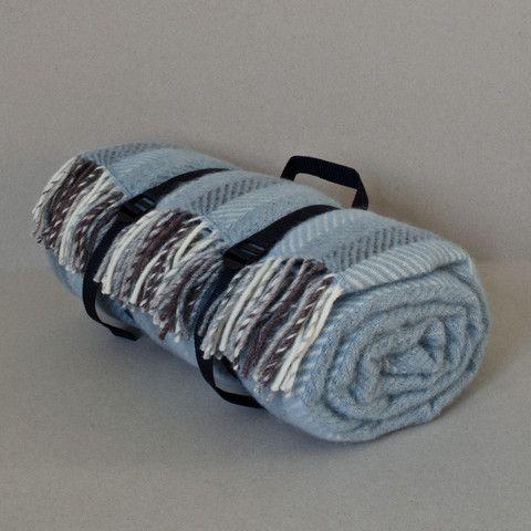 Coastal Striped Picnic Rug