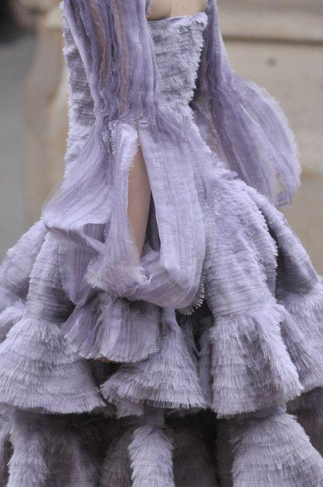 Sarah Burton's Lavender for McQueen