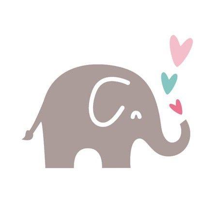 Matrice de découpe – D'co – Eléphant