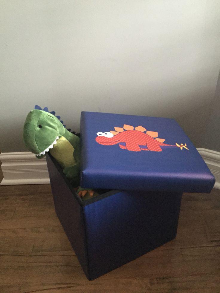 Coffre dinosaure