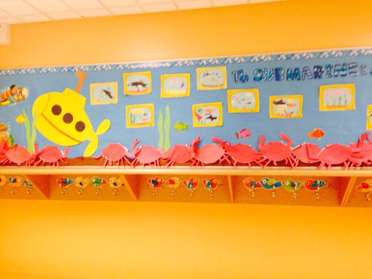 Submarine windows bulletin board!