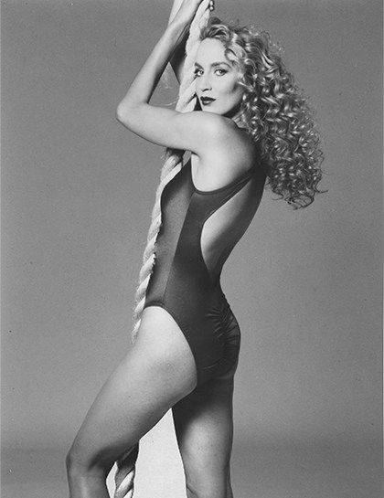 Image result for YOUNG JOANNA LUMLEY swimwear