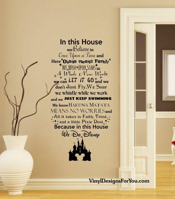 Best 25+ Disney wall decals ideas on Pinterest | Disney ...