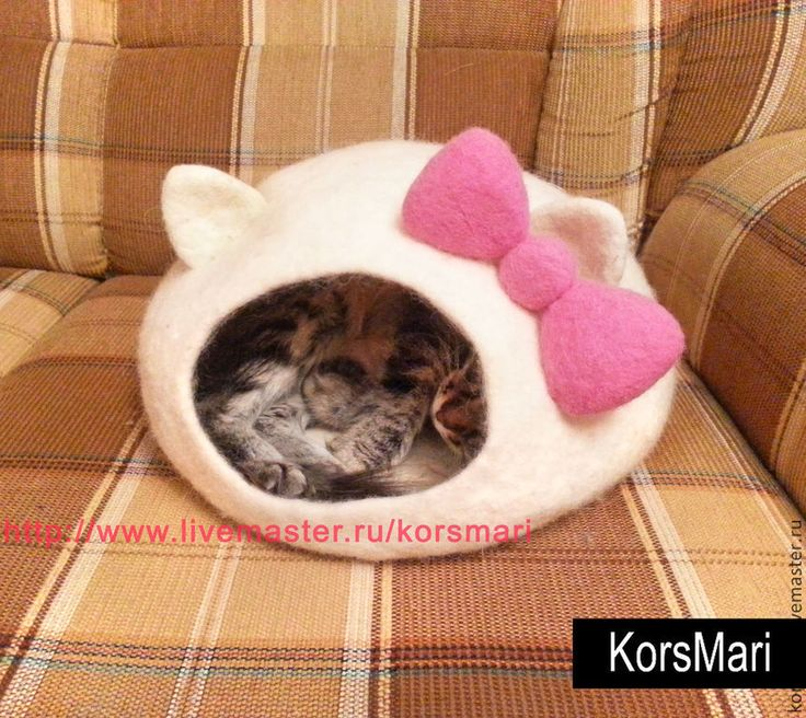 кошкин дом из войлока - Bing images