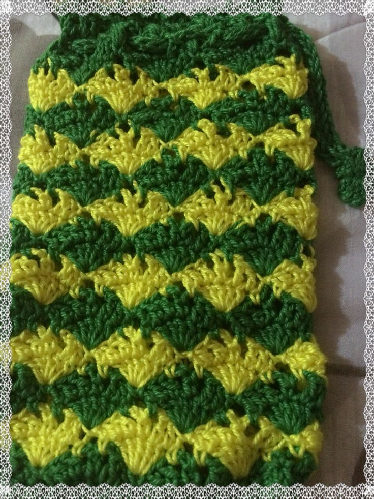 My personal cellphone case Thet's cp crochet
