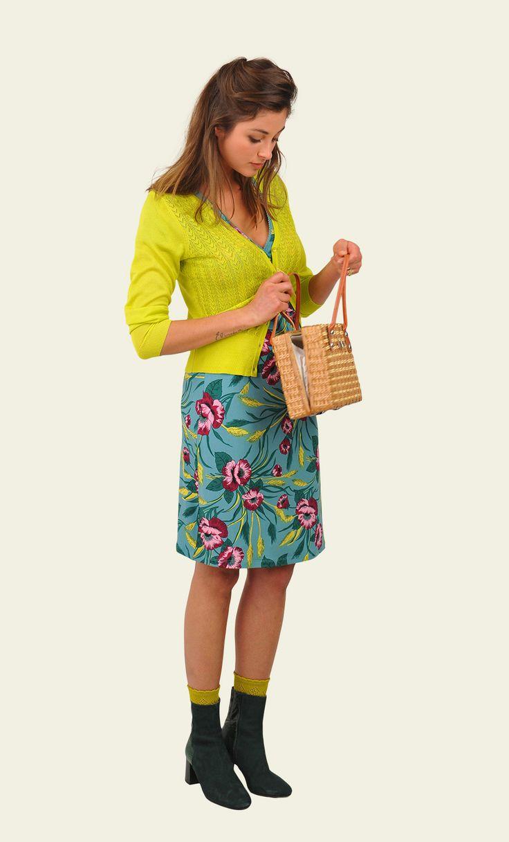 Cross Dress Fiorenza - https://www.kinglouie.nl/dames/jurken/product/cross-dress-fiorenza-short-sleeve/water-blue