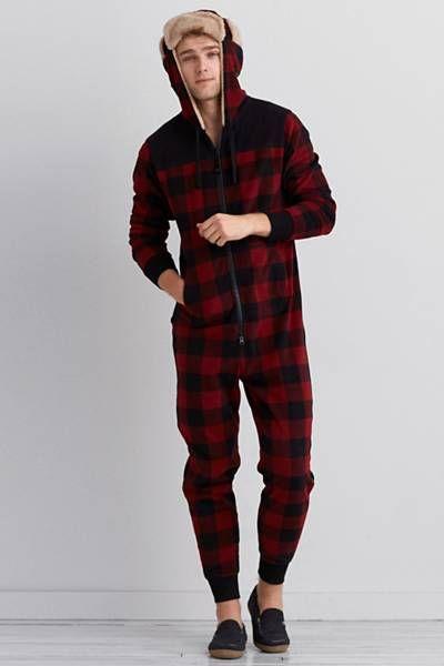 AEO Lumberjack Onesie  by AEO | Get cozy.  Shop the AEO Lumberjack Onesie  and check out more at AE.com.