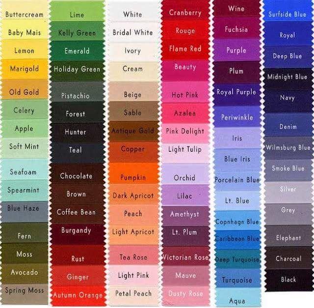 Kisah Raya: Tema Warna Baju Raya 2015! ~ Maria_Firdz