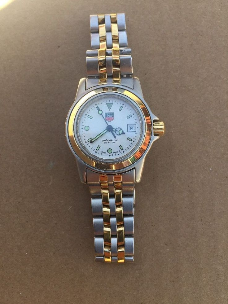 Ladies Tag Heuer Watch 1500 Series Wd1421-PO W/Custom Rolex 18kt Gold Casing | Jewelry & Watches, Watches, Parts & Accessories, Wristwatches | eBay!