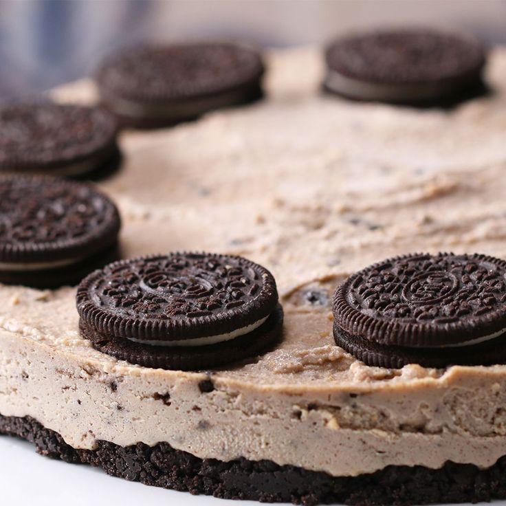 Vegan Cookies and Cream Cheesecake Recipe by Tasty