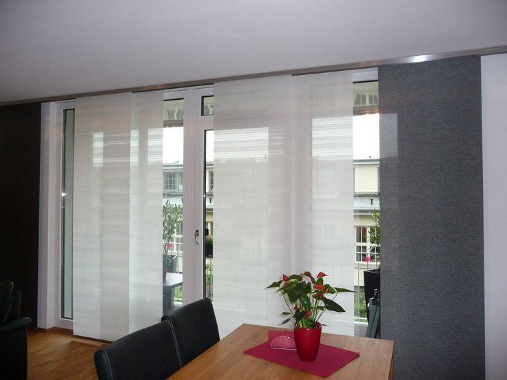 Vorhänge für Wohnzimmer große Fenster - Einrichten und ...