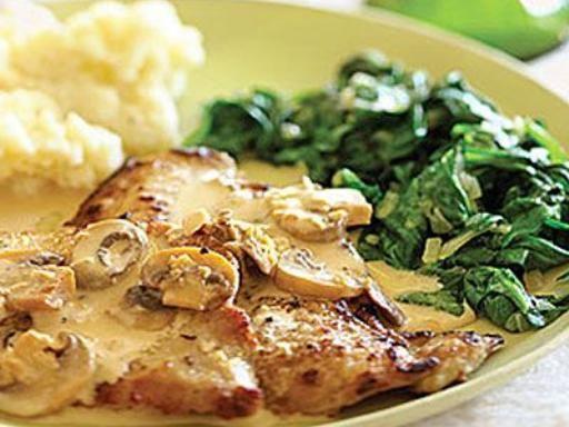 Recette Escalopes de veau normandes, notre recette Escalopes de veau normandes - aufeminin.com