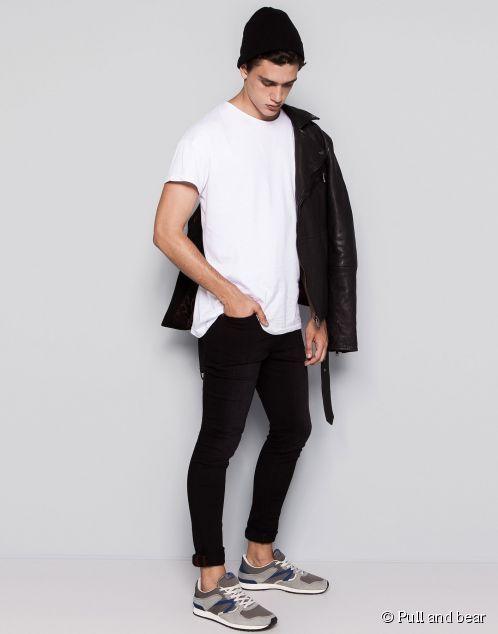 Look blaxk ans white, tendencia masculina otoño-invierno 2014/2015.