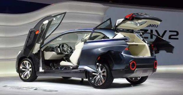 2017 Subaru Tribeca Design Concept, Hybrid Powertrain, - NewCarRumors