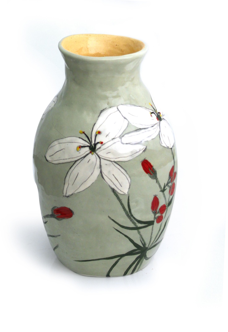 87 best images about pottery vases on pinterest ceramics porcelain vase and ceramic vase. Black Bedroom Furniture Sets. Home Design Ideas