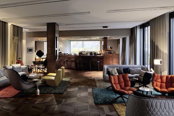Hotel Das Stue in Berlin - beautiful lobby
