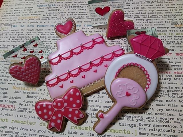 Valentines アイシングクッキー.com