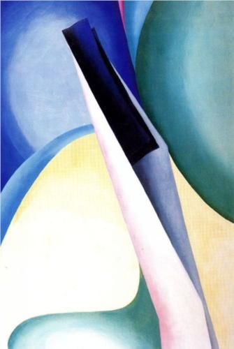 Black Spot II (1919) by Georgia O'Keeffe