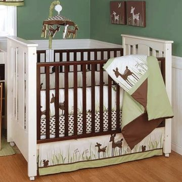 For A Baby Boy Kidsline Willow Organic 4 Piece Baby Crib