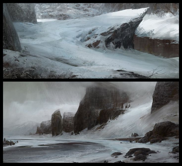 Snow Environments by TFsean on DeviantArt
