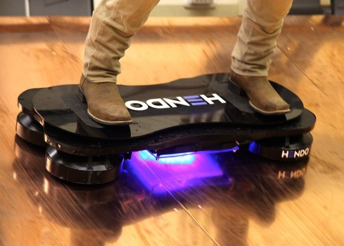Back to The Future Style Hendo Hoverboard Available Next Year For $10,000 - The only problem with the Hendo Hoverboard is that you need to use it on a conductive copper lined skate park for the magnetic field to work correctly. | Geeky Gadgets
