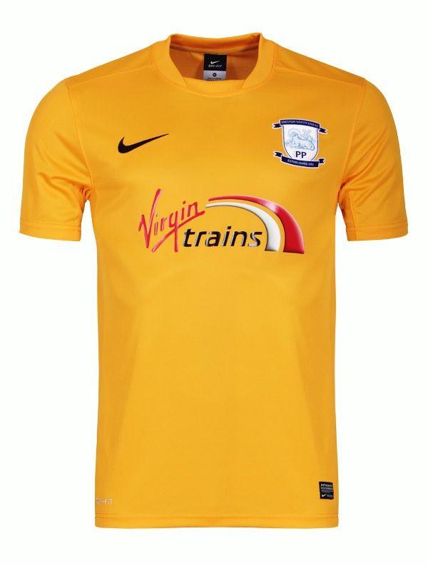 Preston North End Away shirt 14/15